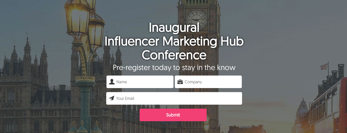 Influencer Marketing Hub Conference
