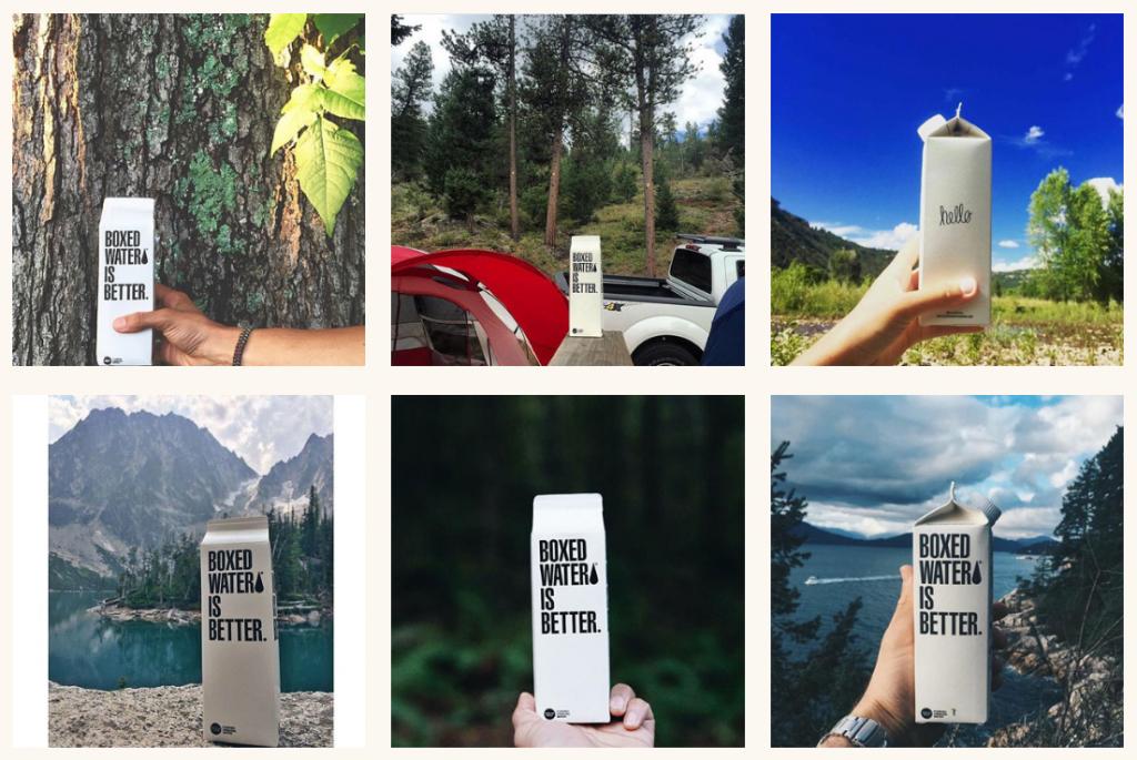 Boxed Water ReTree Instagram Influencer Marketing