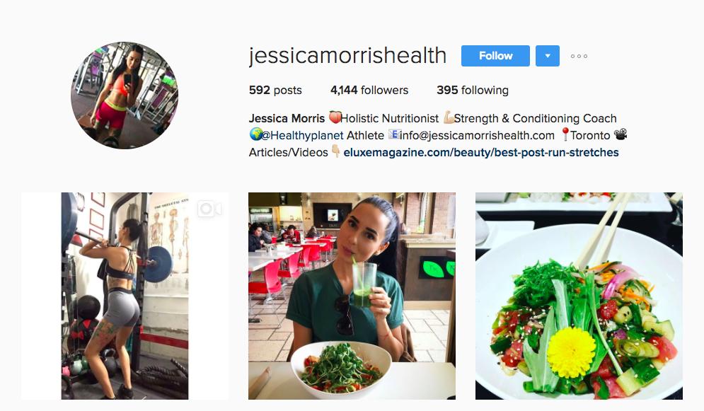 Jessica Morris Social Media Influencer Canada