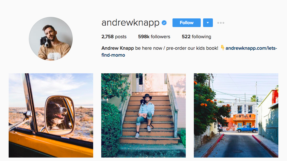 Andrew Knapp Canadian Social Media Influencer