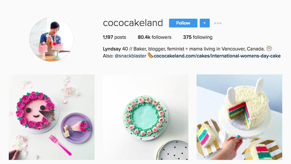 Coco Cake Land Canadian Social Media Influencer
