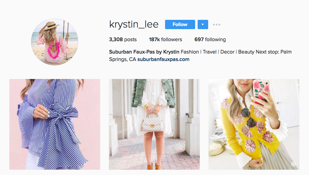 Krystin Lee Canadian Social Media Influencer