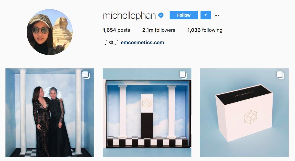 Michelle Phan Beauty Influencer