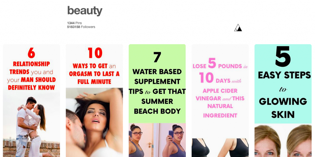 Veanad - Beauty Top Pinterest Board