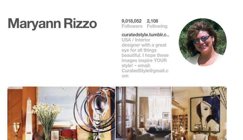 Maryann Rizzo Pinterest Influencer