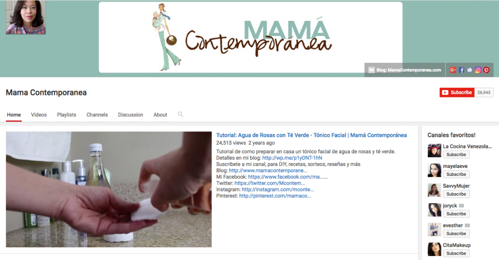 Mama Contemporanea Top Hispanic Social Media Influencer