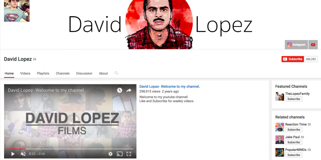 David Lopez Top Hispanic Social Media Influencer