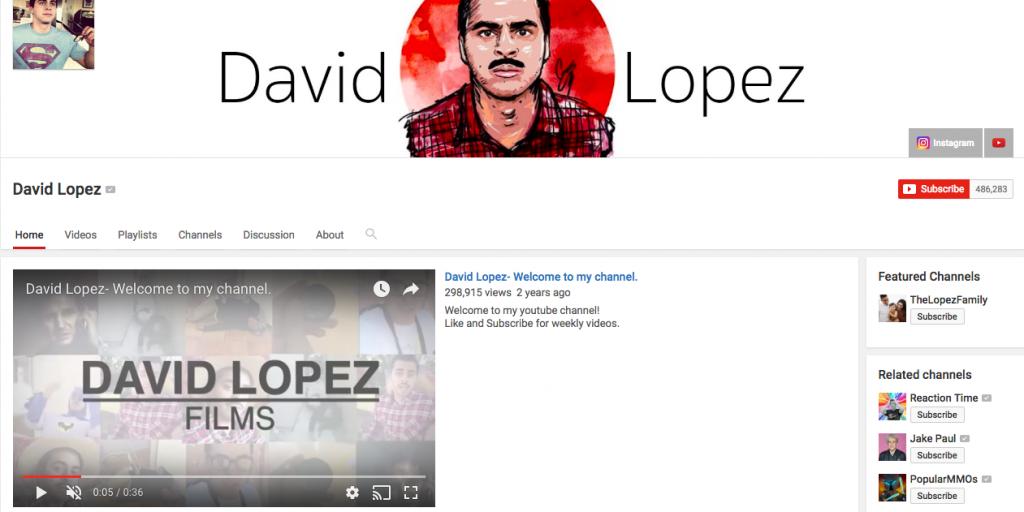 David Lopez Top Hispanic Social Media Influencer