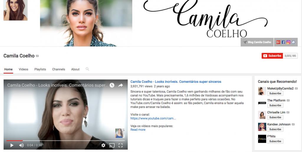 Camila Coelho Top Hispanic Social Media Influencer