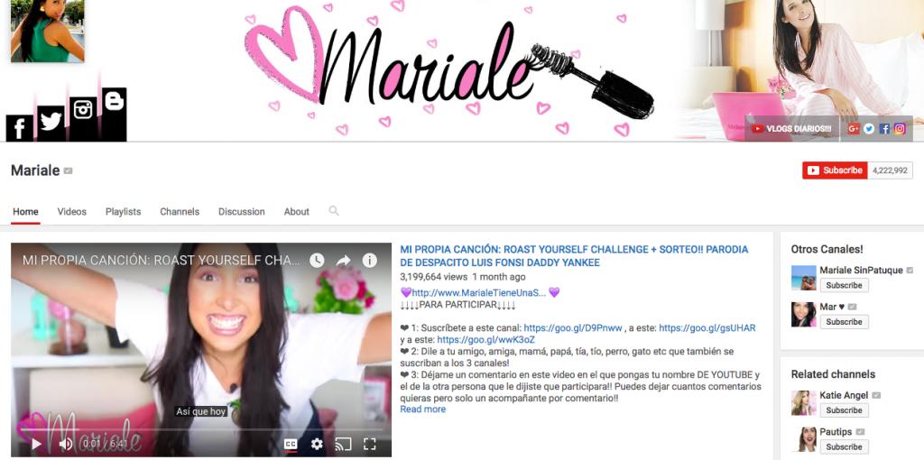 Mariale Top Hispanic Influencer