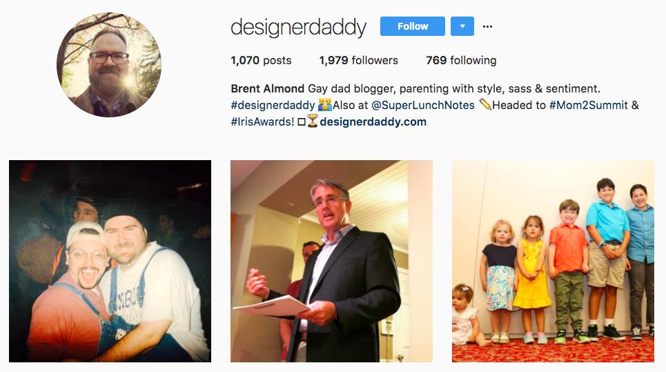Designer Daddy Dad Blogger
