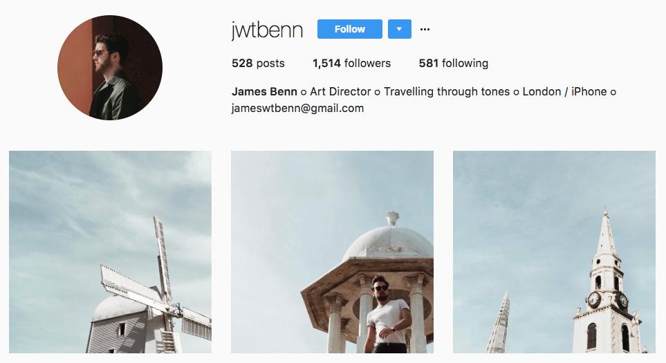 James Benn Top Micro-Influencer