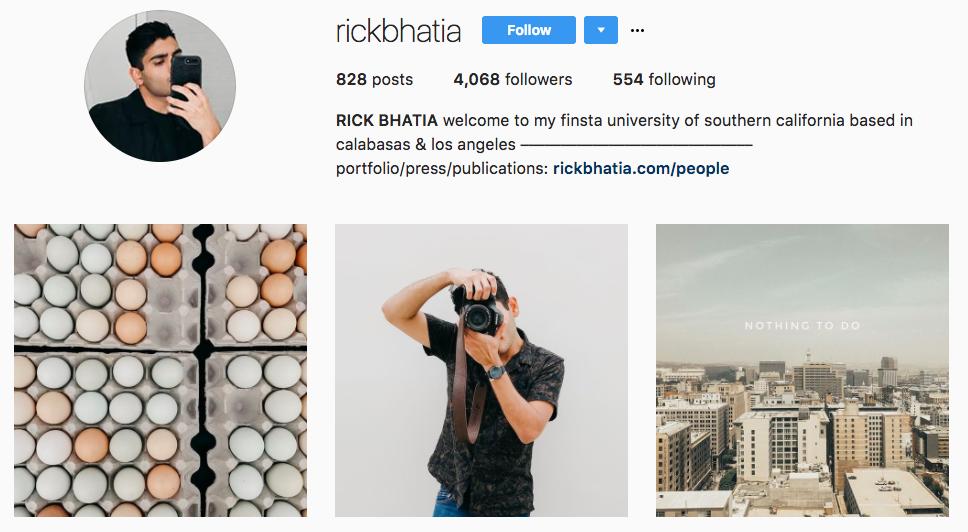Top Micro-Influencer Rick Bhatia