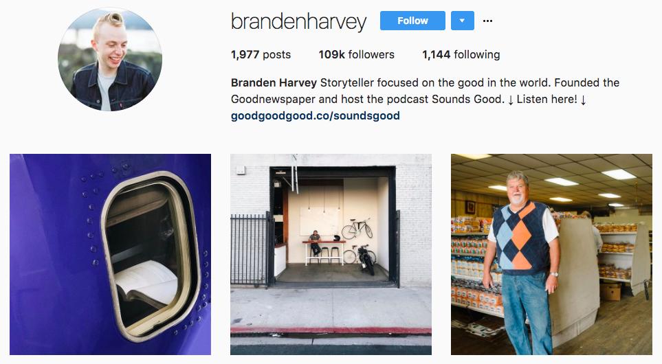 Branden Harvey Top Snapchat Influencer