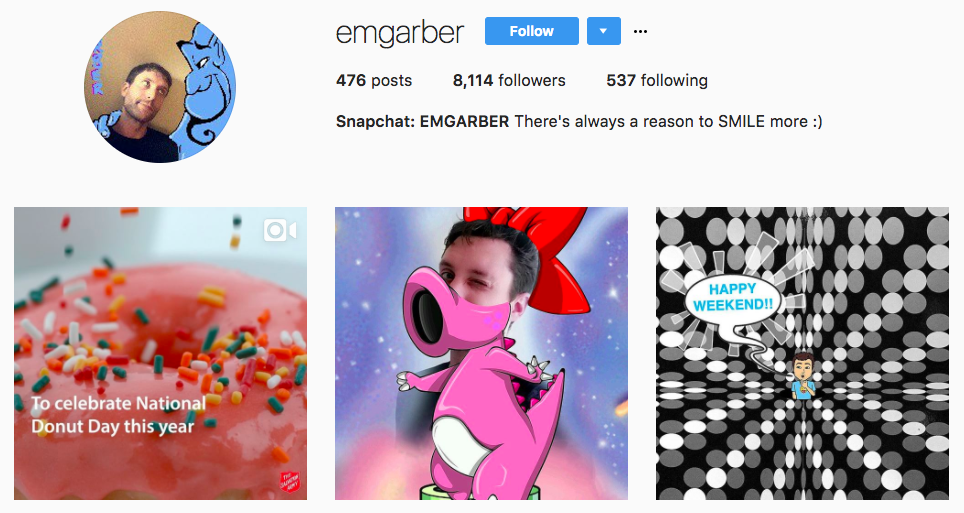 Evan Garber Top Snapchat Influencer