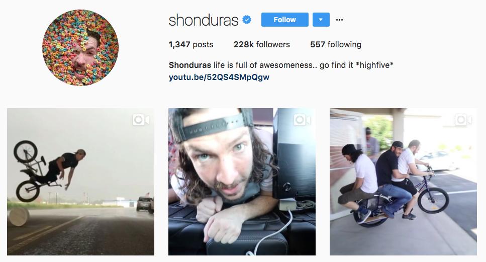 Shaun McBride Top Snapchat Influencer