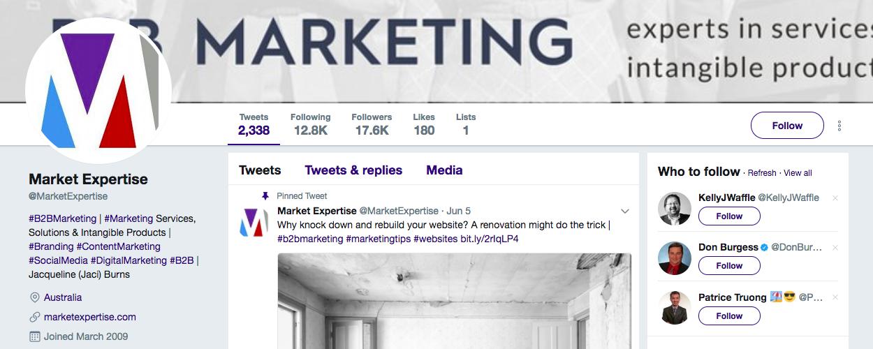 Market Expertise B2B Influencers