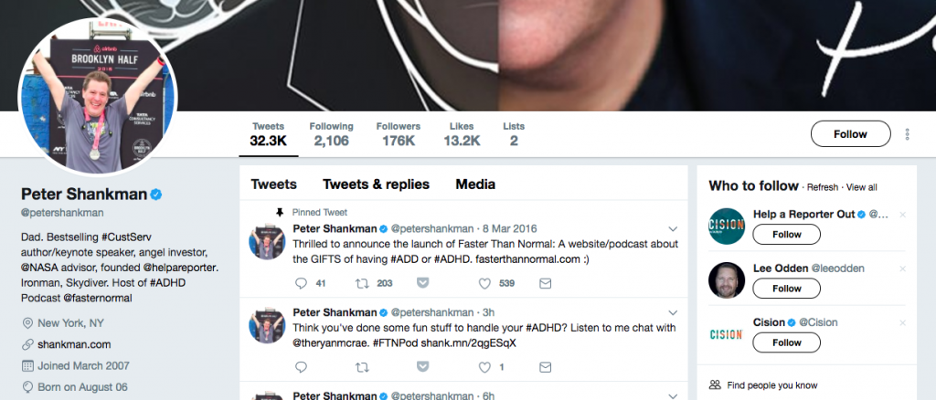 Peter Shankman Top PR Influencer