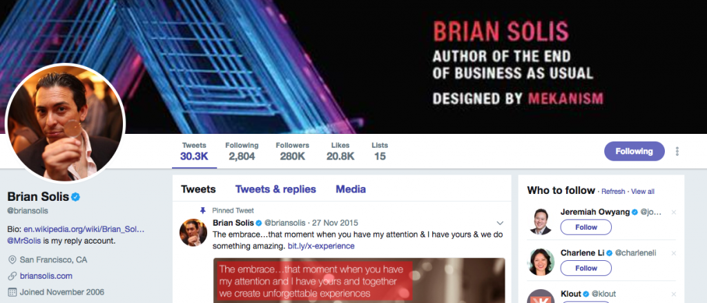 Brian Solis Top PR Influencer