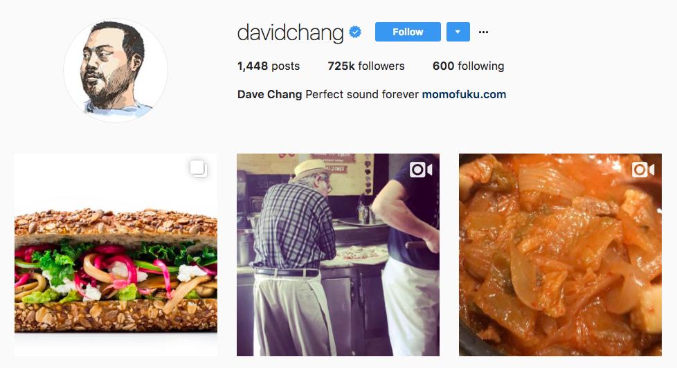 David Change Top Foodie Influencer