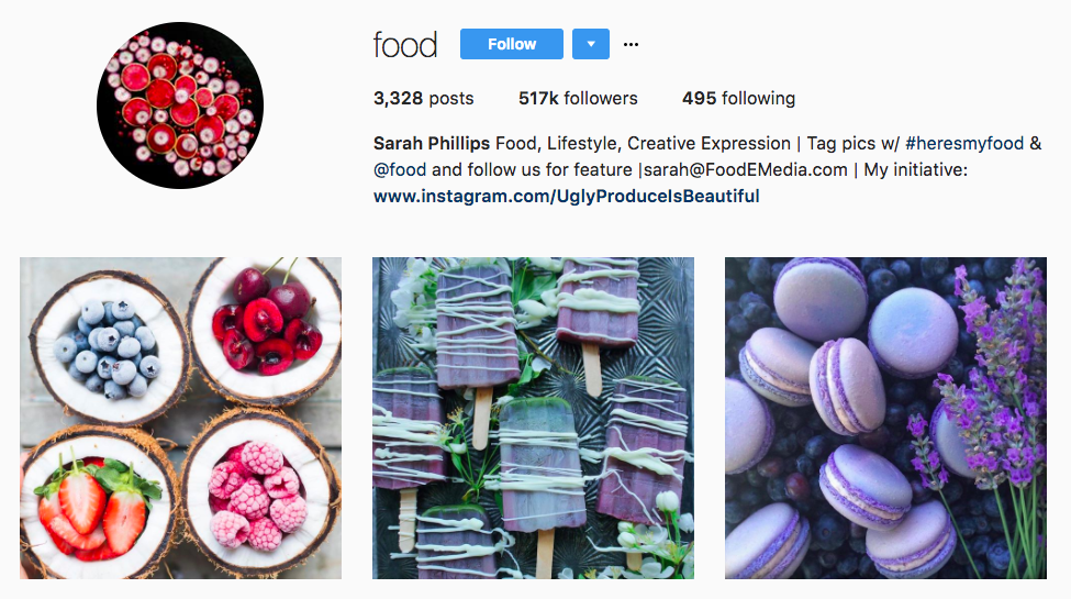 Sarah Phillips Top Foodie Influencer