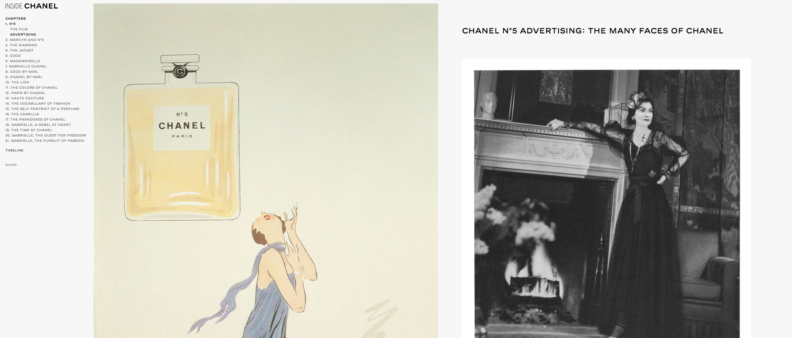 Chanel Content Marketing Brands