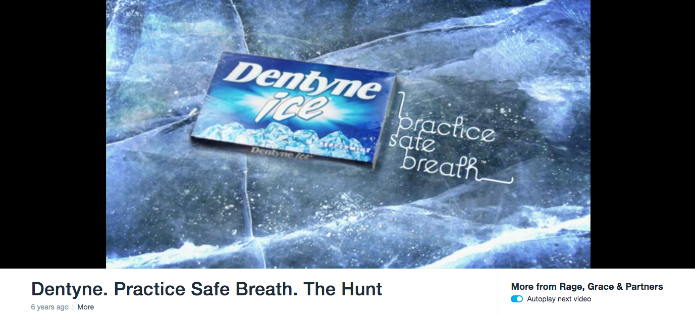 Dentyne B2C Content Marketing