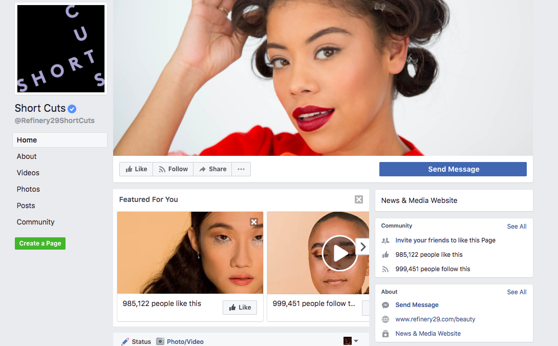 Refinery29 B2C Content Marketing Examples