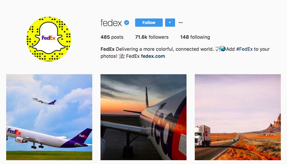 FedEx B2C Content Marketing Examples