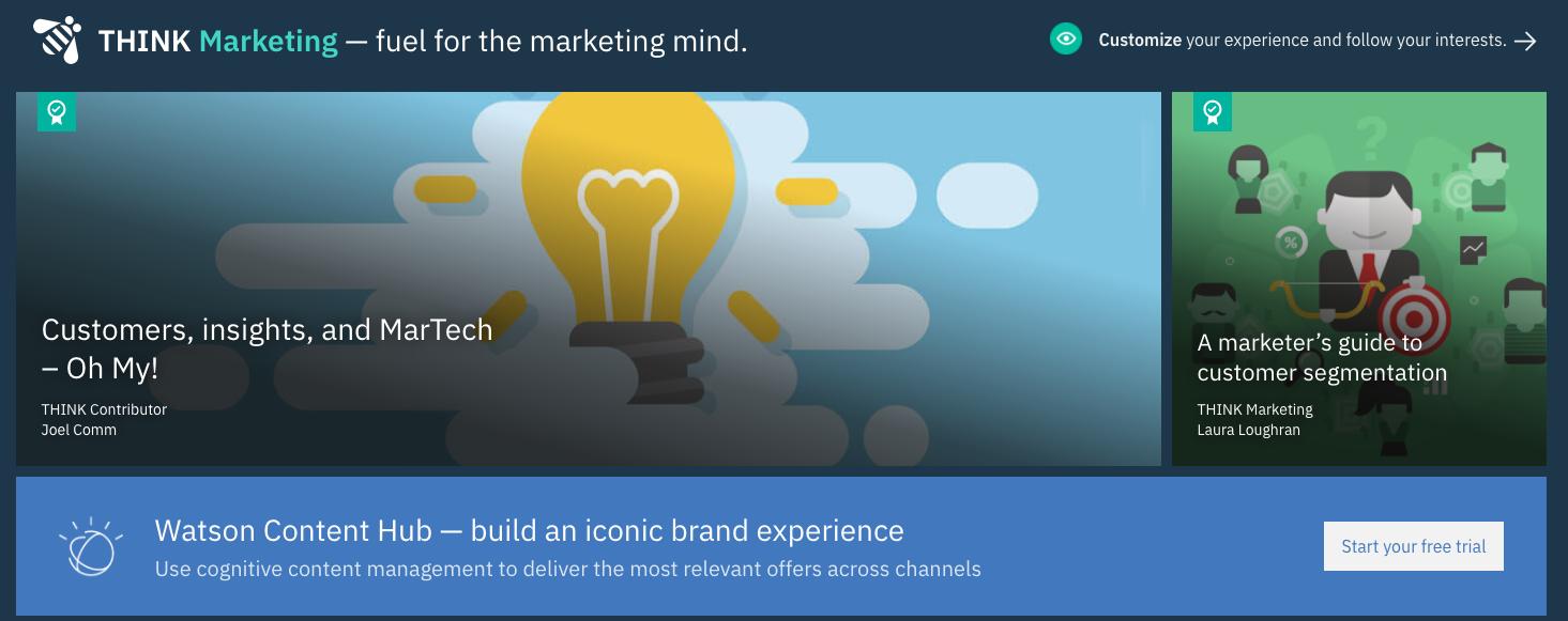 IBM Digital Content Marketing Strategy