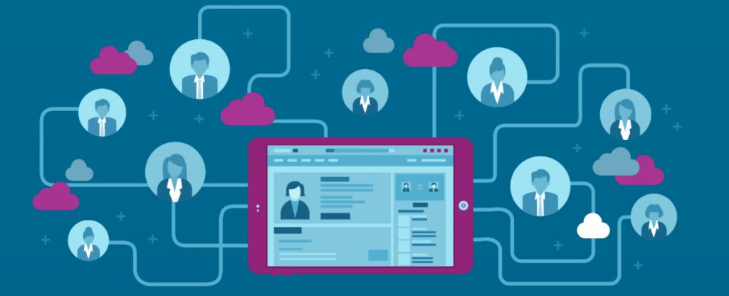 LinkedIn Ad Targeting Options Infographic Header