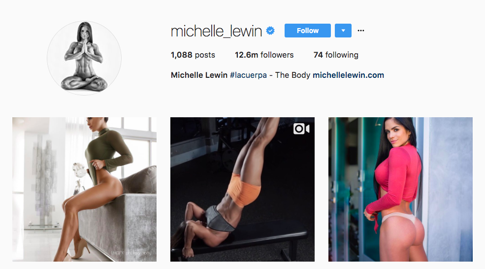 Michelle Lewin Instagram Influencer