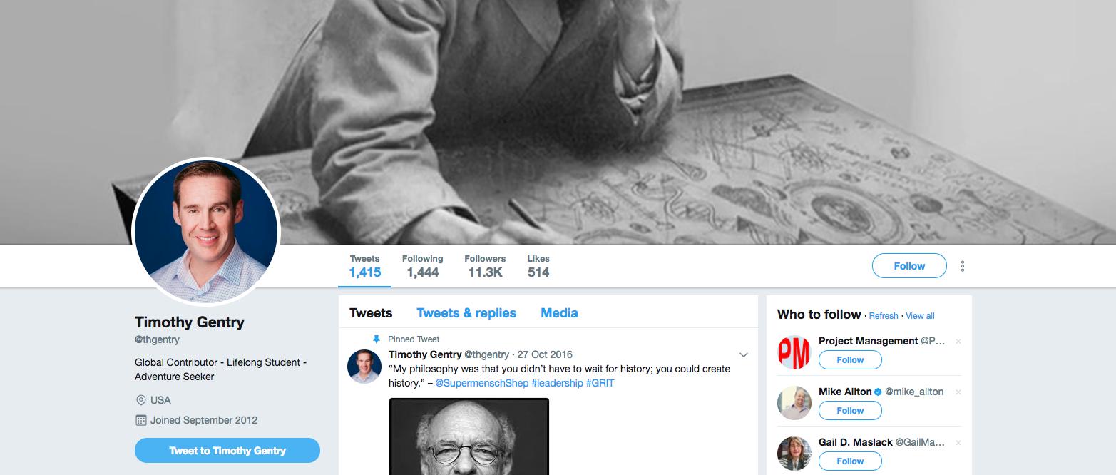 Timothy Gentry AR Influencer