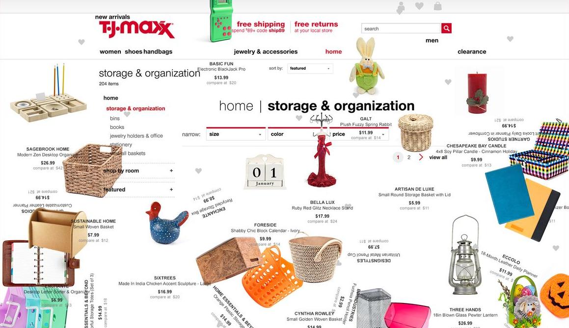 Content Marketing Design TJ Max The Onion