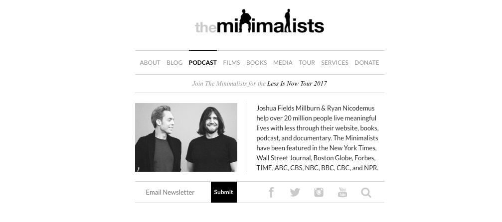 The Minimalists Small Business Marketing