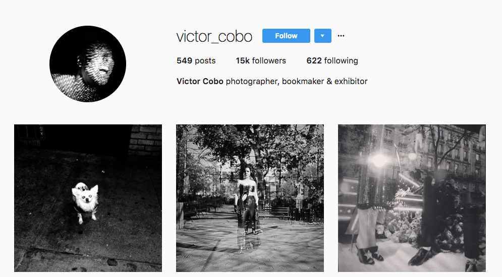 Victor Cobo Top Photography Influencer