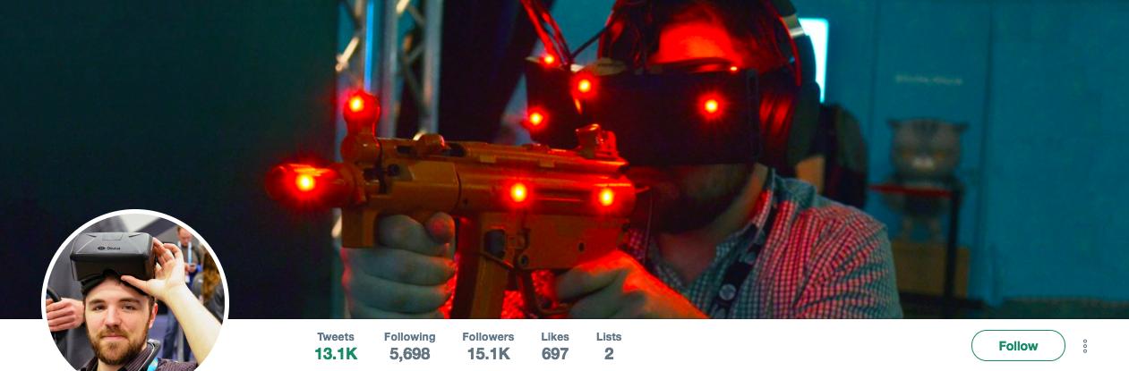 Benjamin Lang Top VR Influencer