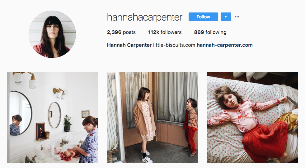 Hannah Carpenter top parenting influencer
