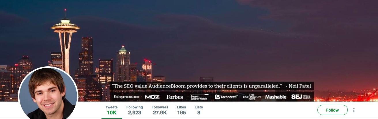 Jayson DeMers Top Marketing Influencer