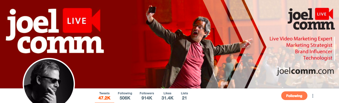 Joel Comm top marketing Influencer