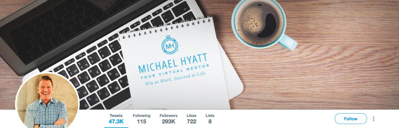 Michael Hyatt Top Marketing Influencer