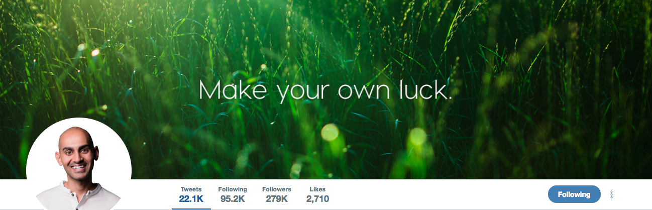 Neil Patel TOp Marketing Influencer