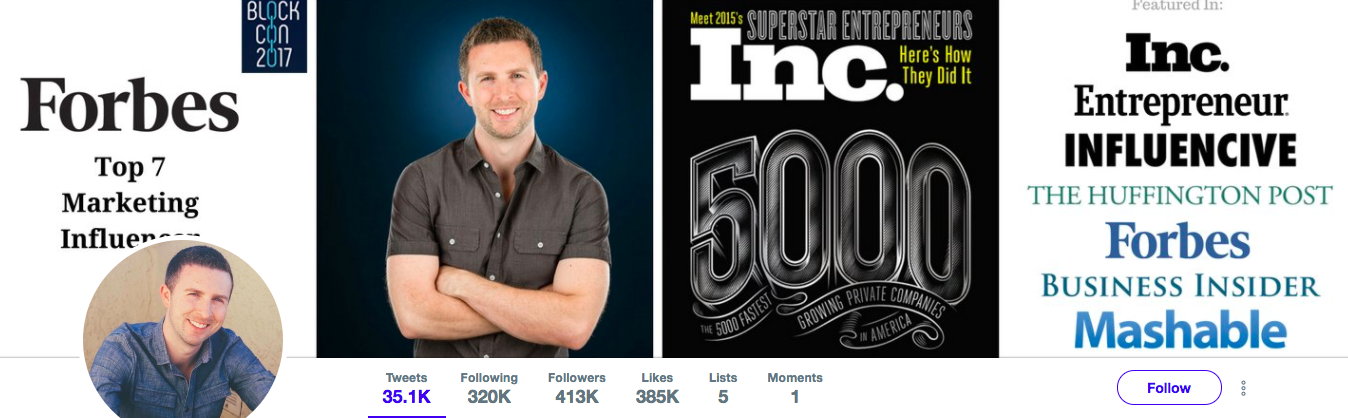 Brian D Evans Top Marketing Influencer