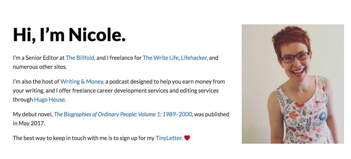 Nichole Dieker Top Blog Content Writer