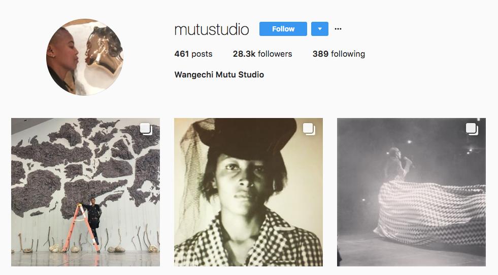 Wangechi Mutu Top Art Influencer