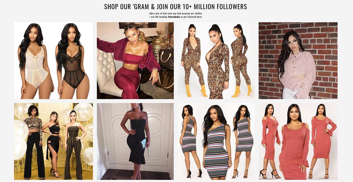 Fashion Nova Fashion Influencer Marketing