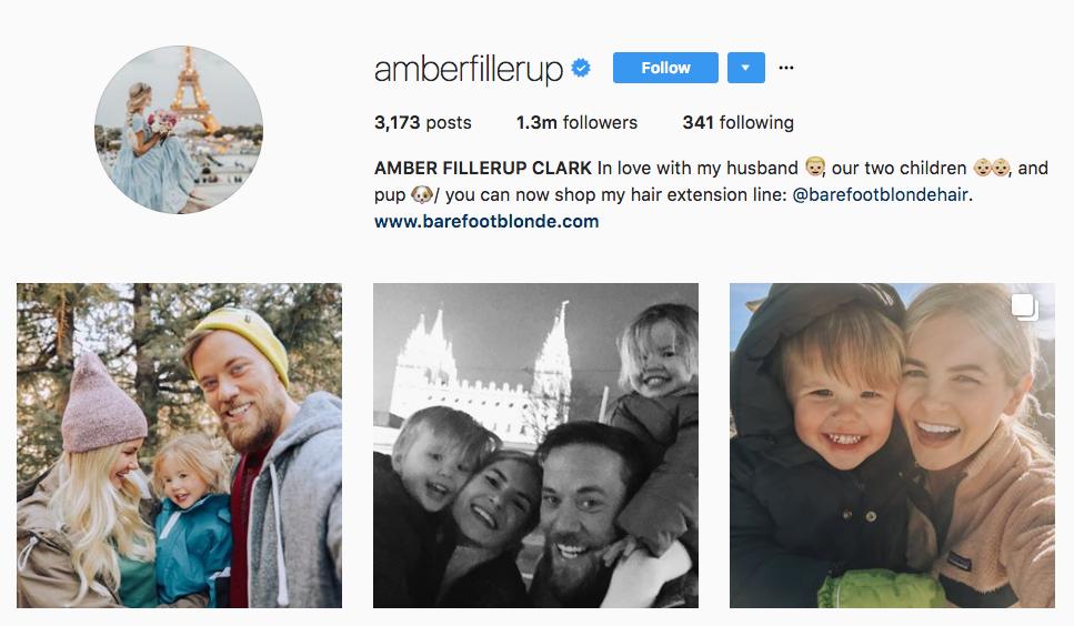 Amber Fillerup Top Female Influencer