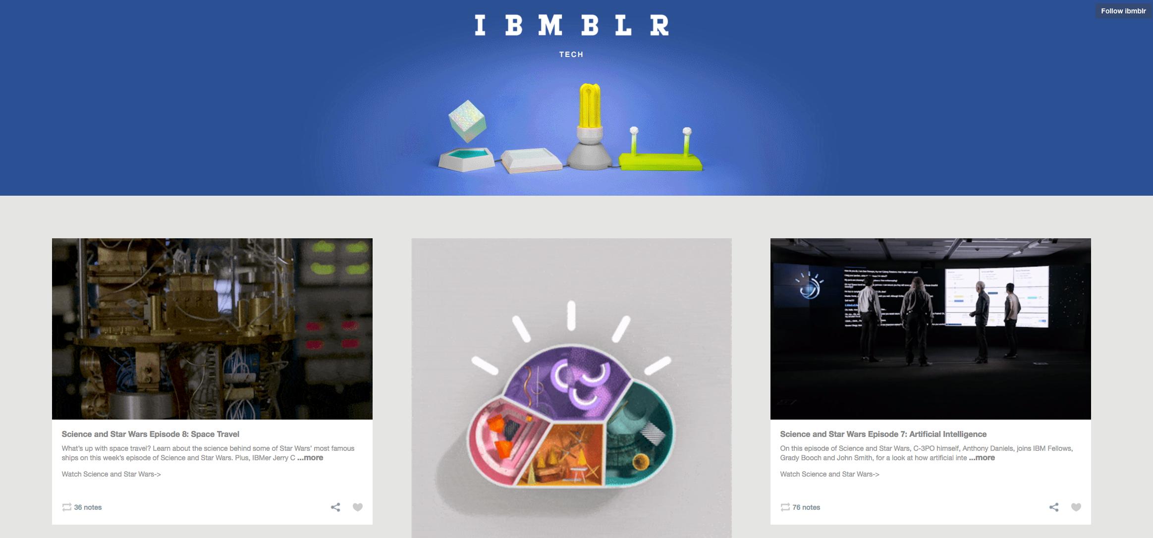 IBMBLR Inspiring Content Marketing