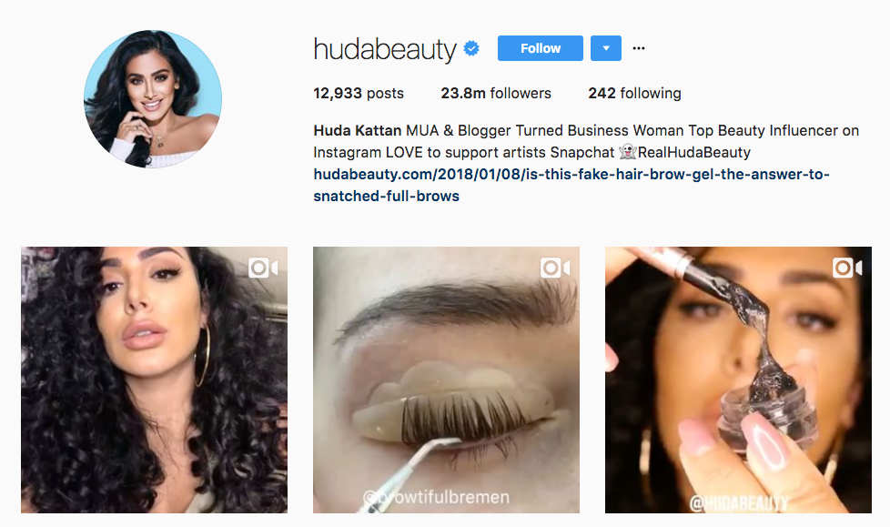Huda Kattan Top Millennial Influencer