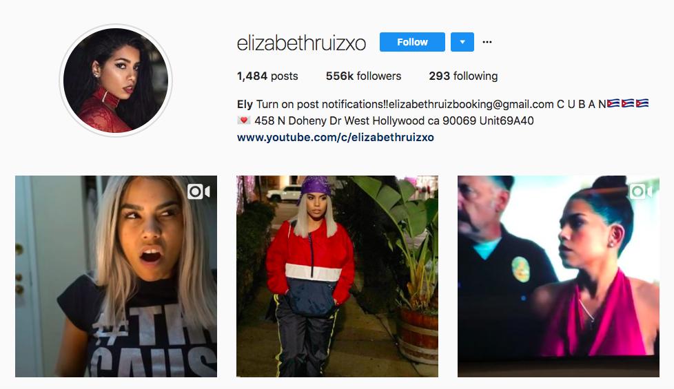 elizabeth ruiz top latina influencer